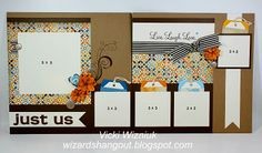 Live, Love, Laugh layout by Vicki Wizniuk with CTMH Dreamin' paper using Cricut Art Philosophy cartridge
