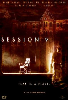 SESSION 9 DVD (UNIVERSAL STUDIOS)