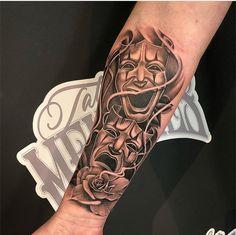 Forearm Tattoos: 80 Amazing Male Designs – E … – Tattoo Ideas Forarm Tattoos, Dope Tattoos, Skull Tattoos, Leg Tattoos, Body Art Tattoos, Tattoos For Guys, Octopus Tattoos, Forearm Sleeve Tattoos, Best Sleeve Tattoos