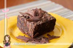 Amehlia Digital: Brownie (fudge-style) - E a viagem!