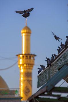 Karbala Iraq, Imam Hussain Karbala, Islamic Wallpaper Iphone, Pink Wallpaper Iphone, Islamic Images, Islamic Pictures, Islamic Quotes, Islam Hadith, Islam Quran