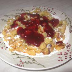 Burgonyás palacsinta Hungarian Recipes, Kenya, Waffles, Oatmeal, Breakfast, Cake, Food, The Oatmeal, Morning Coffee