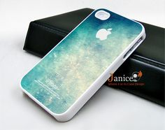 iphone 4 case iphone 4s case iphone 4 cover  call phone case beautiful blue colors wall texture unique Iphone case. $12.99, via Etsy.