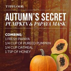 #Honey combine with pumpkin and papaya is the secret for a perfect #beauty.