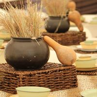 This #African inspired decor was done by Innovative Eventz. http://www.innovativeeventz.co.za/