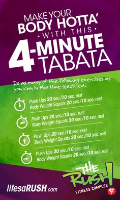 OH MY GOODNESS! I JUST LEARNED ABOUT TABATA! i can totally fit these in throughout my day!!!!