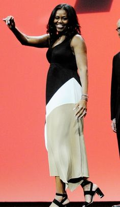 Color Blocked | Michelle Obama's Style After the White House | Us Weekly
