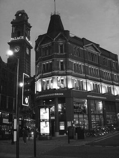 ENGLAND~The Cornerhouse, a theater that also houses one of my favorite tiny bookshops, Manchester, England, United Kingdom, 2007, photograph by Martin Orme.