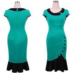 Sally2015 Women's Doll Collar Irregular Hem Stitching Fishtail Dress Amoin http://www.amazon.com/dp/B00ZZ6O38E/ref=cm_sw_r_pi_dp_3Jmdwb1028CT6