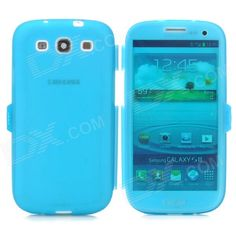 Color: Translucent Blue; Brand: N/A; Model: N/A; Material: Silicone; Quantity: 1 Piece; Compatible Models: Samsung i9300; Other Features: Protects your device from scratches, dust and shock; Packing List: 1 x Protective case; http://j.mp/1ljPL7V