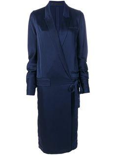 Купить Haider Ackermann платье с запахом и завязкой .