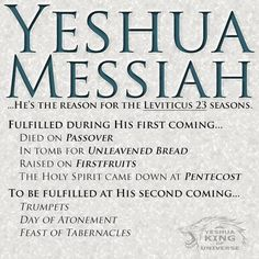 Yeshua is the reason..