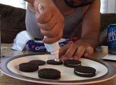 Toothpaste doesn't belong in a sweet, beautiful Oreo.