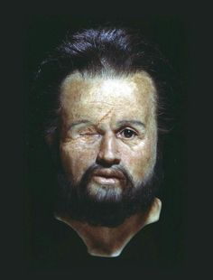 Philip the II died 336 BC, here is a facial reconstruction.