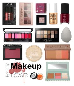 """""""Holiday gift guide: For the makeup lovers"""" by jyoti1201 ❤ liked on Polyvore featuring beauty, Maybelline, Rimmel, NYX, Hoola, Bobbi Brown Cosmetics, NARS Cosmetics, beautyblender, Benefit and Urban Decay"""