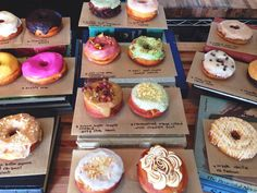 Nomad Donuts in San Diego via My SoCal'd Life...??? Not cheap @ $3-4 a donut
