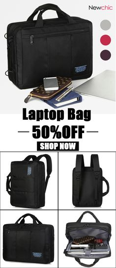 50%off 15 Inch Oxford Waterproof Laptop Bag Business Casual Backpack For  Men 9686d9bf69