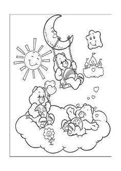 Disegni da colorare Gli orsetti del cuore 7