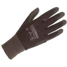 Electron Polyurethane Coated Nylon Glove (X Large) - Packs of 10 pairs - branded SuperTouch these comfortable gloves combine have a Pu coating on the palms to improve protection of the hands.    Specification:    13/15 ga Nylon  Polyurethane Palm Coat  Textured coat  Knitted wrist band  Enhansed cut/tear resistance  Available in Black only - Packs of 12       Application:    Precision engineering  Assembly Operations  Electronic Assembly and Testing  Packing - from only £9.60