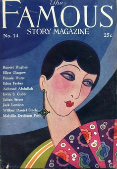 Nov 1926 The Famous Story Magazine vintage cover
