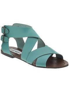 love the color, but do the wide straps look too unfeminine?