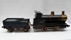 """Live steam Loco with tender """"Juliet"""" inch Antique Toys, Military Vehicles, Live, Antiques, Antiquities, Antique, Army Vehicles"""