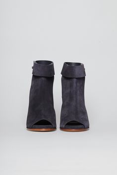 Woman by Common Projects Strap Ankle Boot (Off Black)