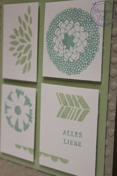 Stampin' Up! Sale-a-Bration 2014, Punktemeer, Petal Parade, Decorative Dots, www.Stempel-Villa.de