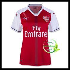 Fotballdrakter Arsenal FC Dame Hjemmedraktsett 2016-2017