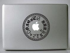 Camera Lens Macbook Decals, Lens Camera Mac Decals, Macbook Stickers, Laptop Decal, Macbook Pro Air Vinyl Decal, iPad Decal Stickers