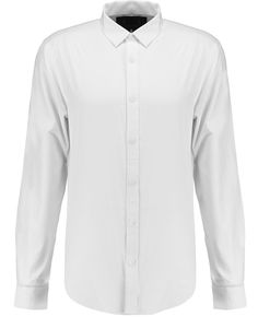 Retro Fire Men White Long Sleeve Basic Slim Classic Formal Dress Shirt Small -- Awesome products selected by Anna Churchill