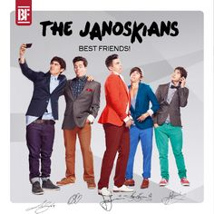 The Janoskians spoof One Direction in Best Friends parody cover of Up All Night