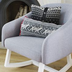 A trimmed-down sweater is just the touch for a cozy corner! Find more ways to transform sweaters here: http://www.bhg.com/christmas/crafts/christmas-sweater-crafts/?socsrc=bhgpin110414christmassweaterpillow&page=2