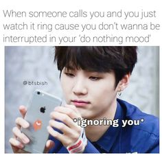 Min Yoongi is my spirit animal. I love how that seems to actually be a phrase now. A lot of us relate to him so much..