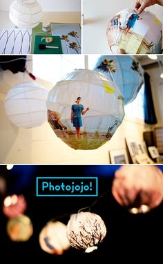 How to make glowing photo spheres
