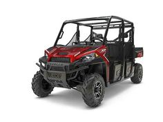 New 2017 Polaris RANGER CREW XP 1000 EPS Sunset Red ATVs For Sale in North Carolina. 2017 Polaris RANGER CREW XP 1000 EPS Sunset Red, 2017 Polaris® RANGER CREW® XP 1000 EPS Sunset Red SUNSET RED World s Most Powerful UTV with 80 HP Adjustable Smooth Riding Suspension and Class Exclusive Throttle Control Modes Industry Exclusive Pro-Fit Cab Integration and Hundreds of Accessories Options Features may include: HARDEST WORKING FEATURES WORLD'S MOST POWERFUL UTILITY SIDE BY SIDE The ProStar