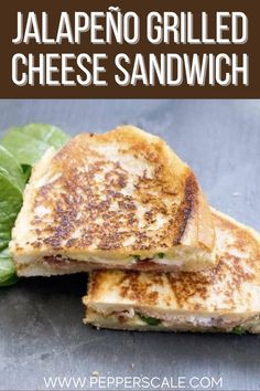 If jalapeño poppers are a favorite, this grilled cheese sandwich is a treat! There's already a decent amount of spiciness, but there's potential for a full jalapeño used here per sandwich. Make it your way! #jalapeno #jalapenogrilledcheese #grilledcheese #grilledcheesesandwich Chipotle Recipes, Meat Recipes, Mexican Food Recipes, Dinner Recipes, Jalapeno Grill, Spicy Steak, Spicy Wings, Spicy Meatballs, Stuffed Jalapeno Peppers