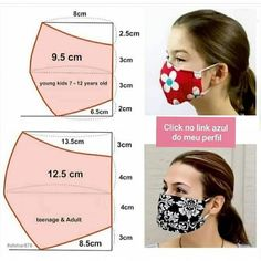 Sewing Hacks, Sewing Tutorials, Sewing Crafts, Sewing Projects, Dress Tutorials, Easy Face Masks, Diy Face Mask, Sewing Patterns Free, Free Pattern
