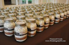 Since I'm having a winter wedding I was thinking of having hot chocolate favors. How many people are doing favors?