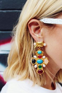 Earrings for the maximalist.