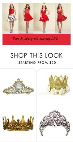 """Dave & Johnny: homecoming queens"" by daveandjohnny212 on Polyvore featuring Dave & Johnny, Seletti and daveandjohnny"