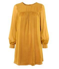 H Mustard Dress