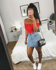 summer fashion Sommermode & Auneetuh & The post Sommermode & Style appeared first on Spring outfits . Mode Outfits, Girl Outfits, Casual Outfits, Fashion Outfits, School Outfits, Fashion Tips, Style Fashion, Friend Outfits, Feminine Fashion