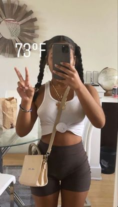 Baddie Outfits Casual, Cute Swag Outfits, Trendy Outfits, Black Girl Fashion, Look Fashion, Teen Fashion, Mode Outfits, Girl Outfits, Fashion Outfits