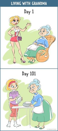 13Comics Showing How Our Attitude toAny Object Changes Within 100 Days