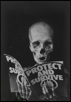 Peter Kennard 'Protest and Survive', To be used as an example of photomontage and the perception of conflict in the Photomontage lesson. Protest Kunst, Protest Art, Political Art, Political Events, Photomontage, Growth And Decay, Art Alevel, Creative Review, Photoshop