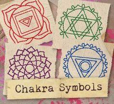 Embroidery Designs at Urban Threads - Chakra Symbols (Design Pack)