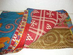 Handmade Bedding Bedspread Blanket Vintage by Antiquecollections, $29.90
