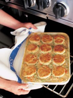 Barefoot Contessa - Recipes - Chicken Stew with Biscuits