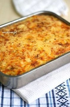 Musaka z Bliskiego Wschodu Easy Cooking, Cooking Recipes, Mince Dishes, Musaka, Oven Chicken, Mediterranean Diet Recipes, Greek Recipes, Good Food, Food And Drink